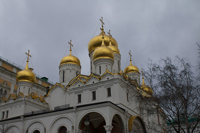 Day 8a - Kremlin Armory & Cathedrals