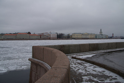 Day 12a - Walk, Neva River & Hotel